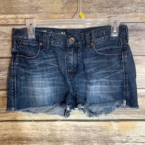 Madewell Jean Shorts Cut Off 25 Distressed